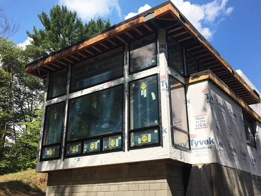 new casement and awning windows in cleveland home