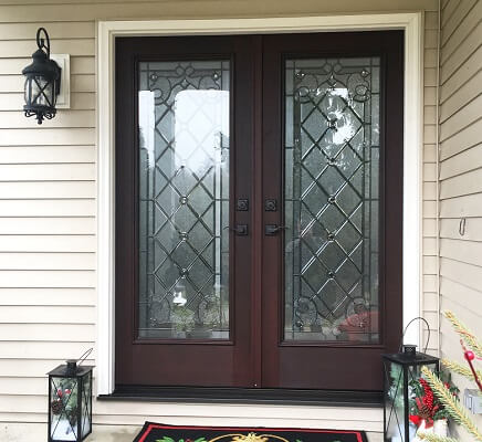 Mentor Homeowner Preps For Cold Winter By Replacing Entry Door
