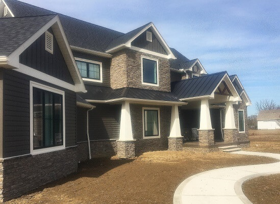 new construction home outside cleveland area