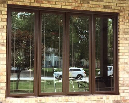 Wood Windows Replacement With Muntins After