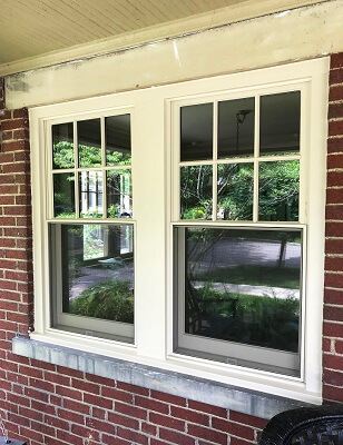 double-hung window screens