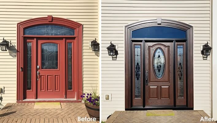 From Dated to Grand: An Entryway Upgrade for Columbus Home