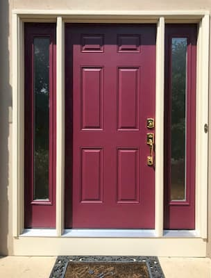 Entry Door Replacement Brightens and Updates Dublin Home