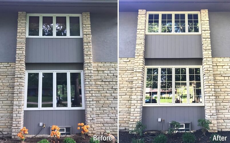 New Energy Efficient Windows in Columbus Home