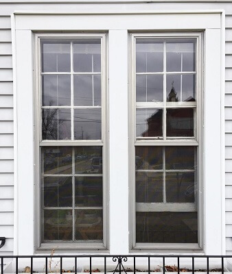 before image of window in columbus home