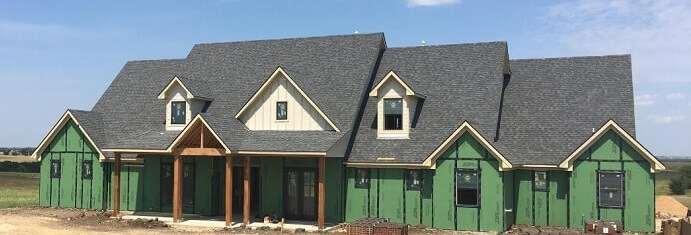 new construction home in dallas gets new wood windows