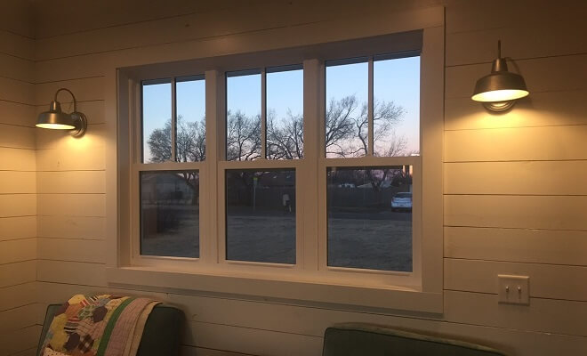 Vinyl Windows For Farmhouse Style Texas Home