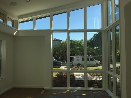Floor to Ceiling Windows Bring Light Into Southlake, TX Home