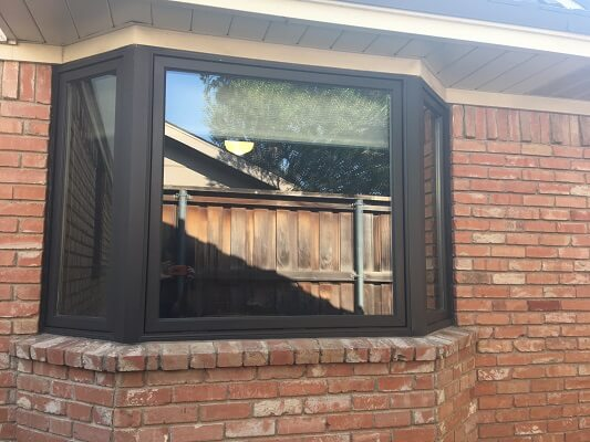 dallas home gets new casement and bay windows