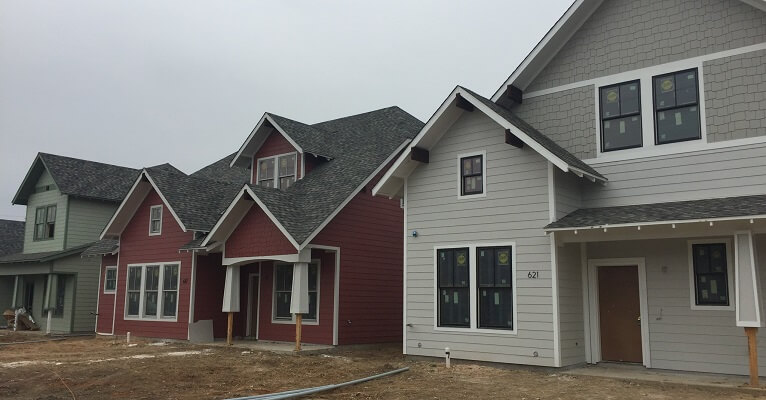 Pella Double-Hung Windows Used Throughout New Development in Grapevine