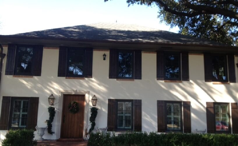 Before and After: Dallas Home Renovation with New Wood Windows