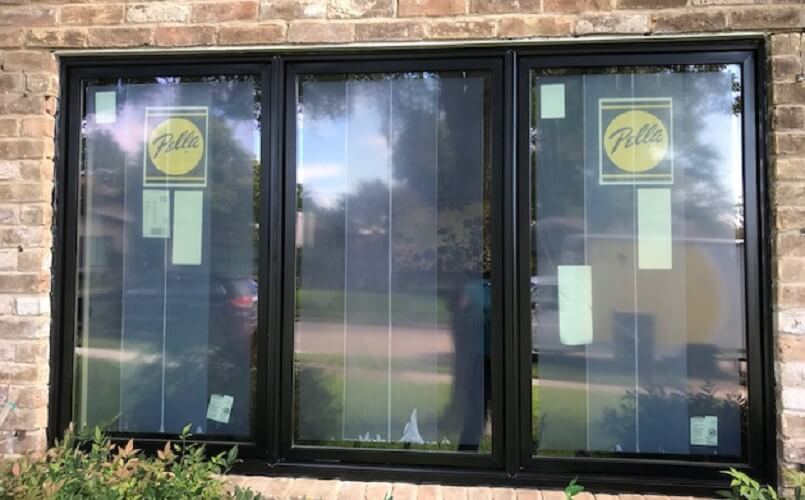 New Black Casement Windows For Southlake TX Home