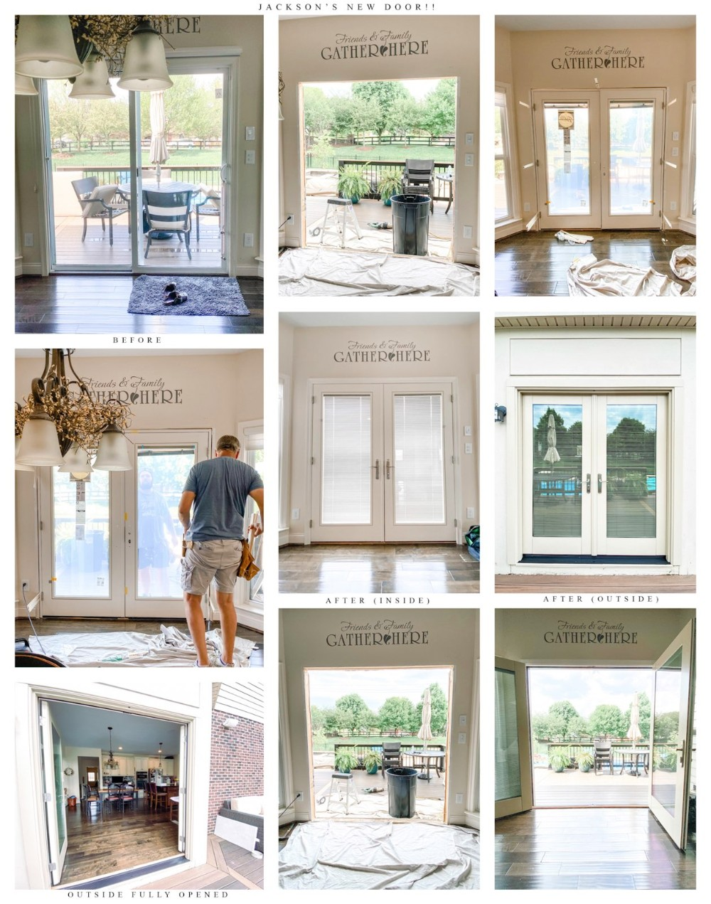 dayton french swing door photo compilation