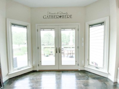 Picturesque Patio Door Remodel