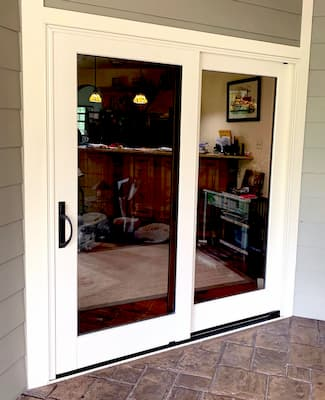 Architect Series Sliding Glass Door Beautifies Glen Rock Patio