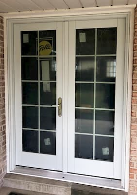 French Patio Door Brightens Up Mechanicsburg Kitchen