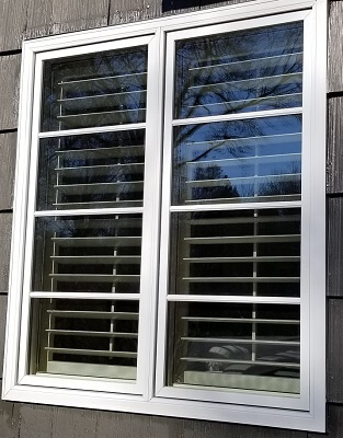 window image of salina home with new wood casement windows