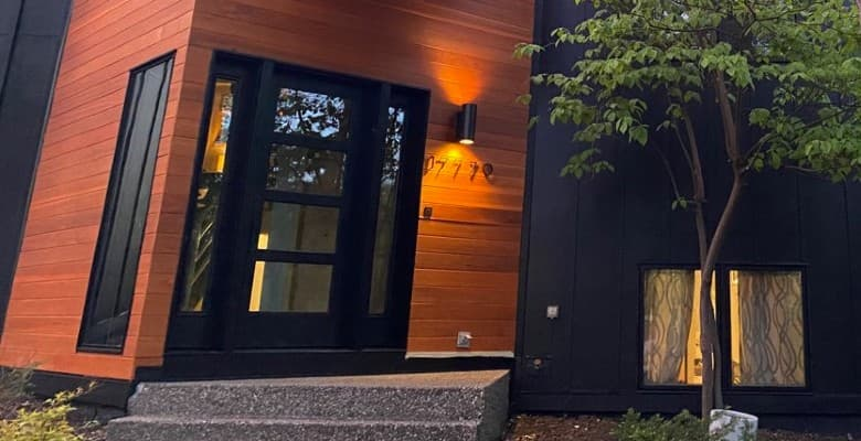 Minnetonka Home Makeover Includes Stunning Entry Door