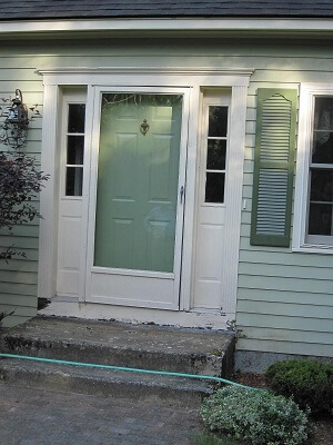New England Home Gets New Entry Door