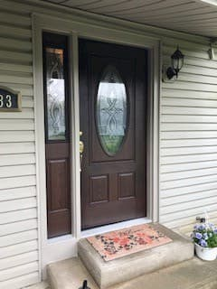 Entry Door Before and After in Fort Wayne