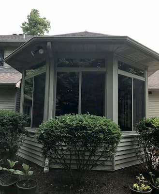 Vinyl Window Replacement for Hoagland Home