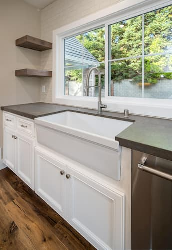 granite bay home remodel - kitchen window