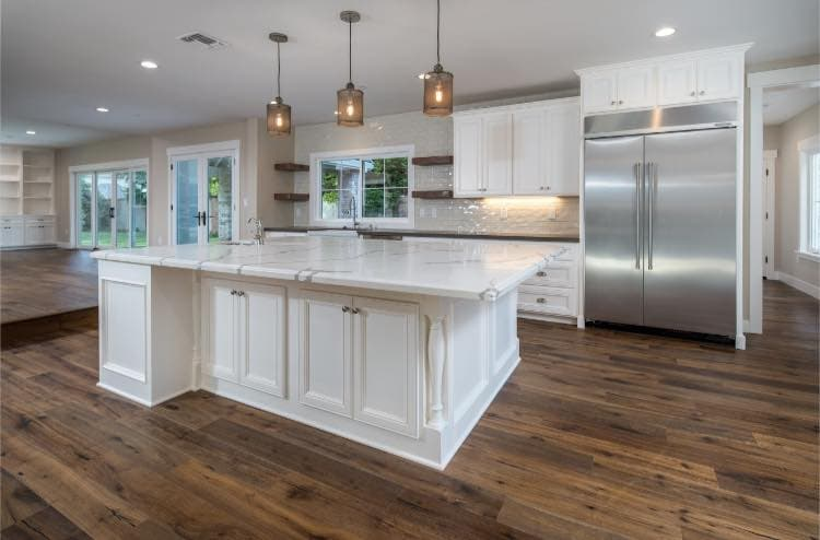 granite bay home remodel - kitchen