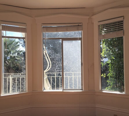 new vinyl single hung windows for san francisco home