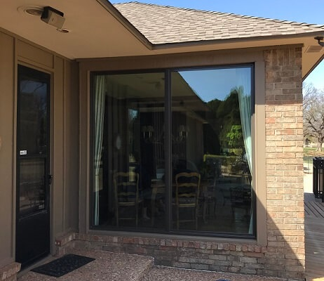 new wood fixed window in edmond