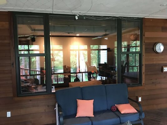 New Fiberglass Windows Bring Natural Light To Porch