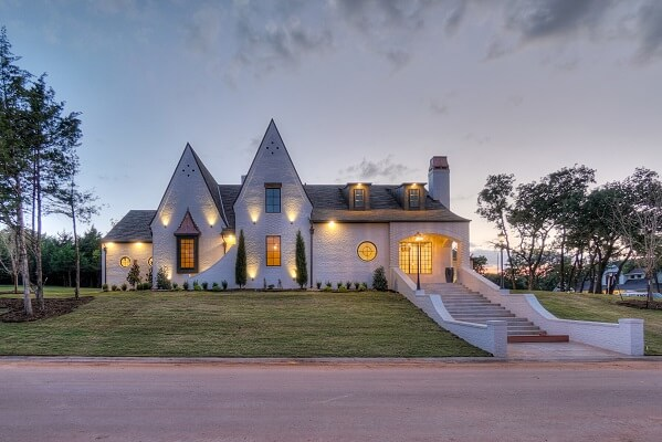 wood casement pella windows featured in oklahoma new construction