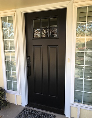 Fiberglass entry doors pella retail - Steel vs fiberglass exterior door ...