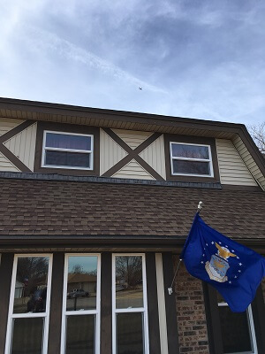 moore oklahoma home gets new vinyl single hung, casement and sliding windows