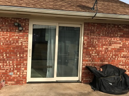 Before and After: 1960's Patio Door Replacement