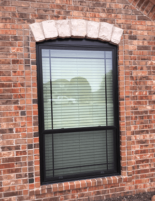 after image of oklahoma city home with new fiberglass windows