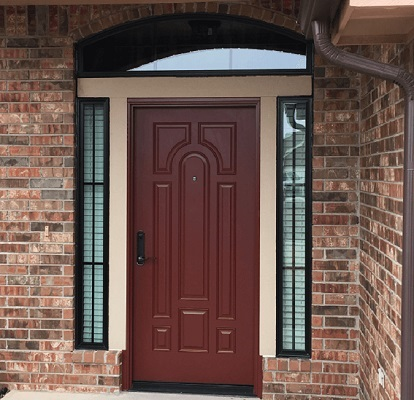 New Door Gives Entryway a Modern Update with a Timeless Look