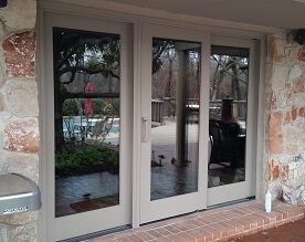 sliding patio door in edmond, ok