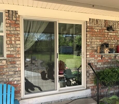 new vinyl sliding patio door replacement