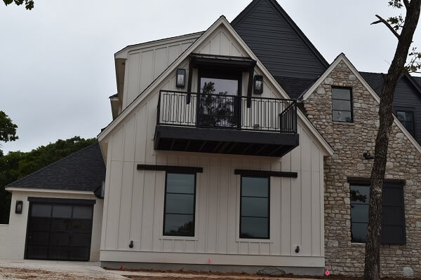 new wood casement windows in edmond ok new construction