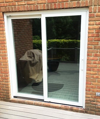 sliding patio door replacement after