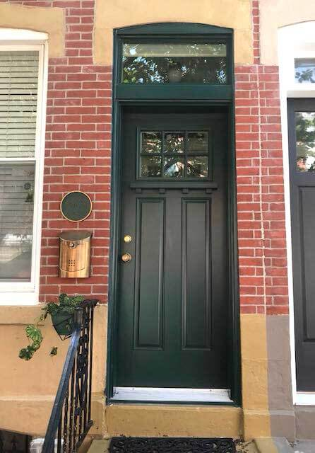 Fiberglass Entry Door Replacement--after
