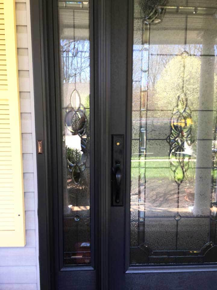 Entry Door Replacement with Matching Hardware