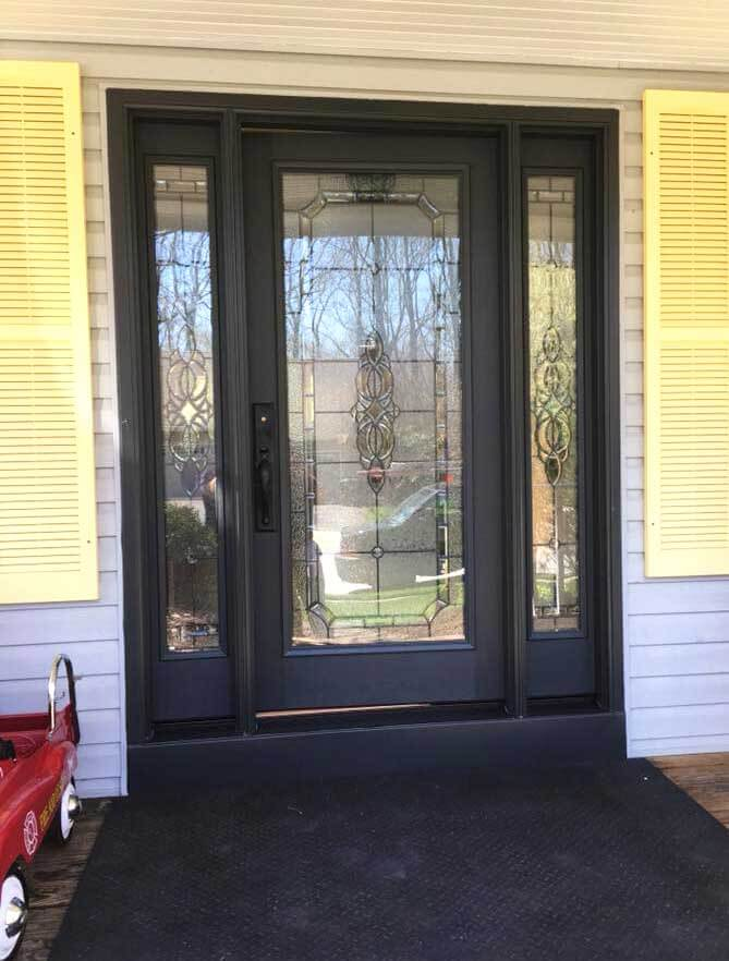Fiberglass entry door replacement