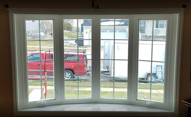 new bay window after replacement