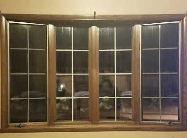 old wood bay window needing replacement
