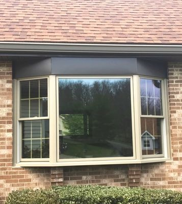 new wood bay window replacement