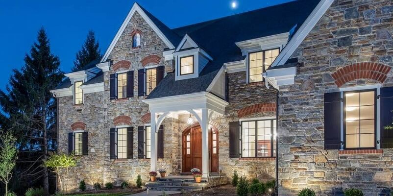 Beautiful Home in Cedar Run Development Features Wood Casement Windows