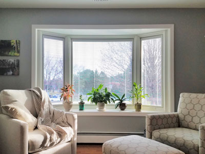 Lifestyle Series Bay Window Brightens and Beautifies Coatesville Home
