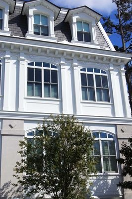 custom wood double-hung windows