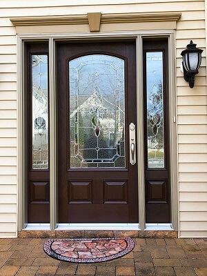 Fiberglass Entry Door Replacement For Historic Egg Harbor